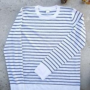 Club Monaco/ Mackenzie Striped Sweater Large